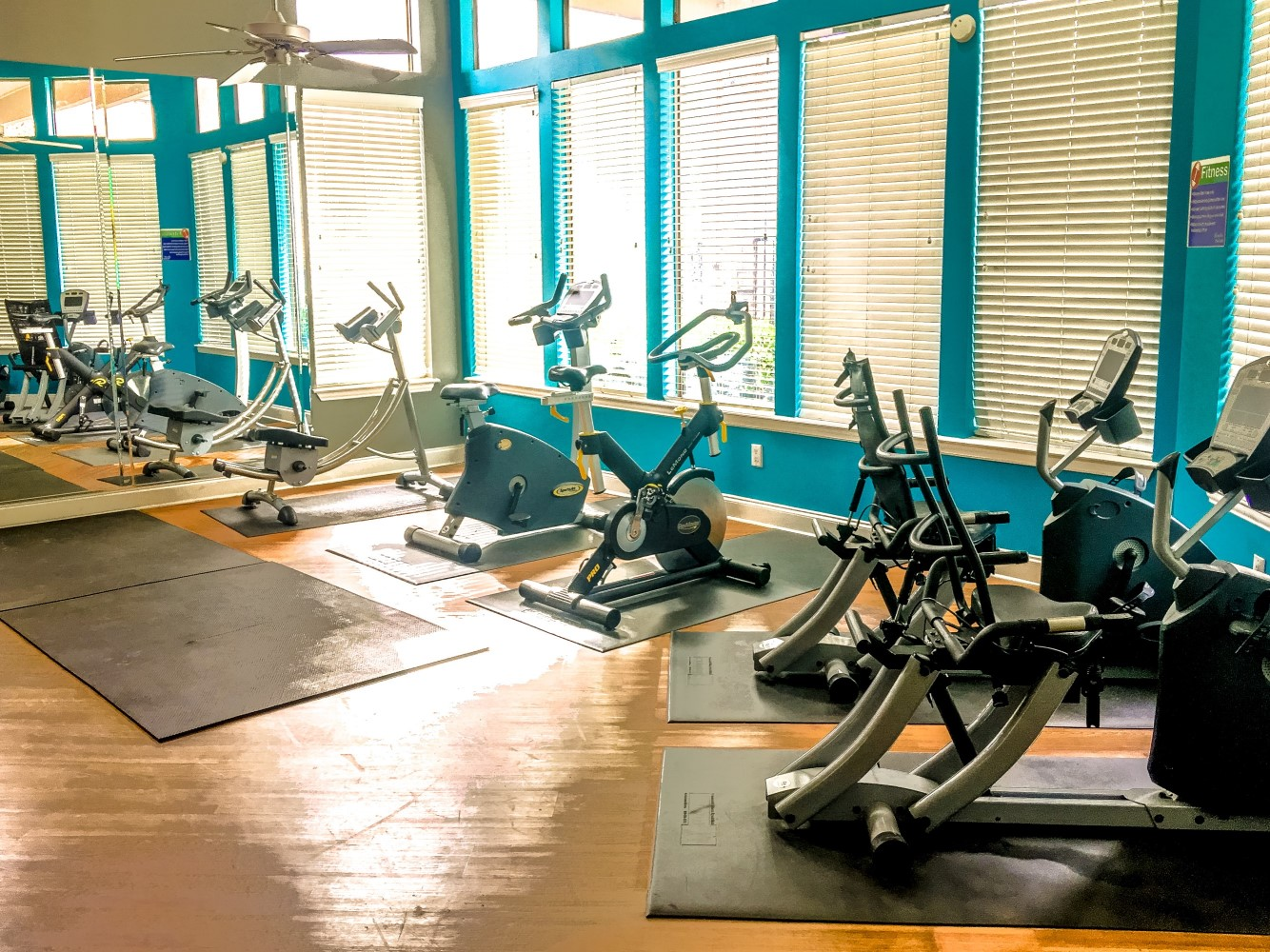 State-of-the-Art Fitness Center at Montecito Creek Apartments in Dallas, Texas