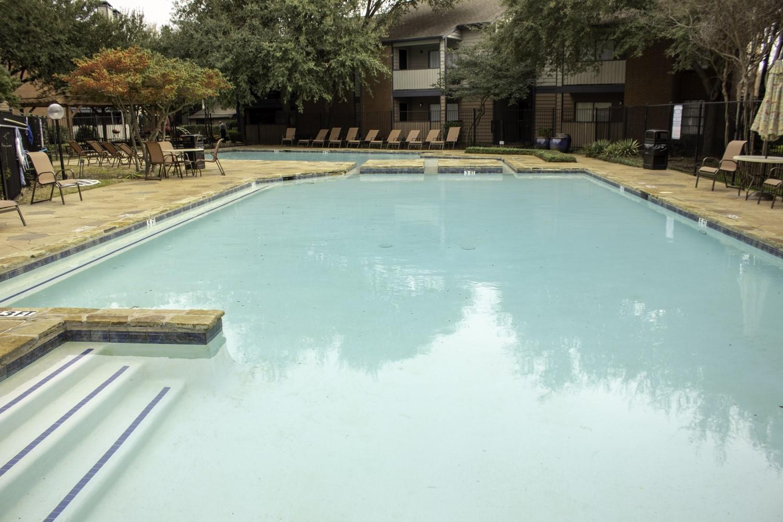 Sparkling Swimming Pool at Montecito Creek Apartments in Dallas Texas