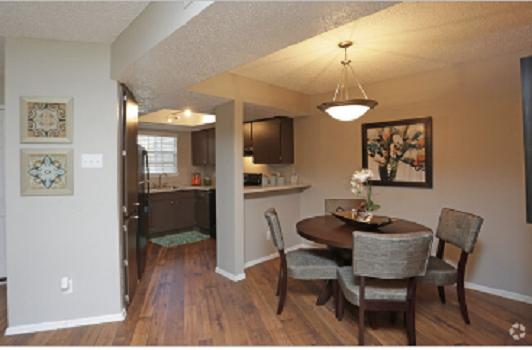 Spacious Floor Plans at Montecito Creek Apartments in Dallas, Texas