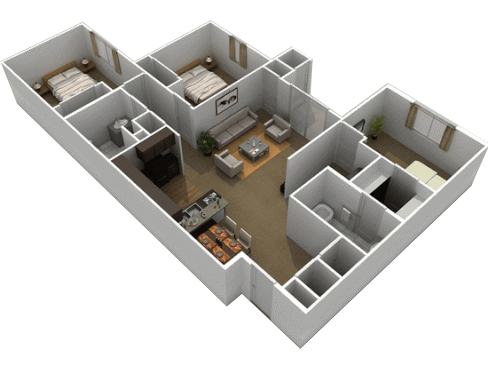 Floorplan - Old Main image
