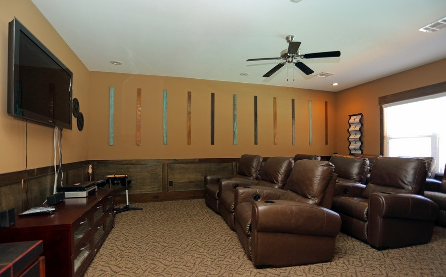 Theater Room at the Mountain Ranch Apartments in Fayetteville, AR