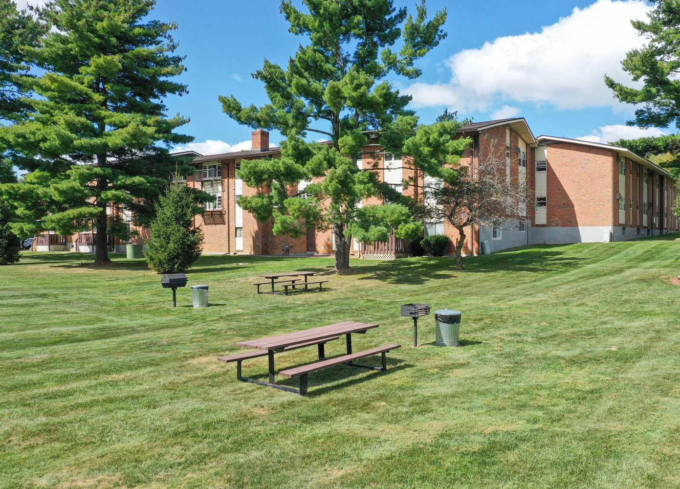 Beautiful Backyard on Site at Mountainview Gardens Apartments in Fishkill, NY