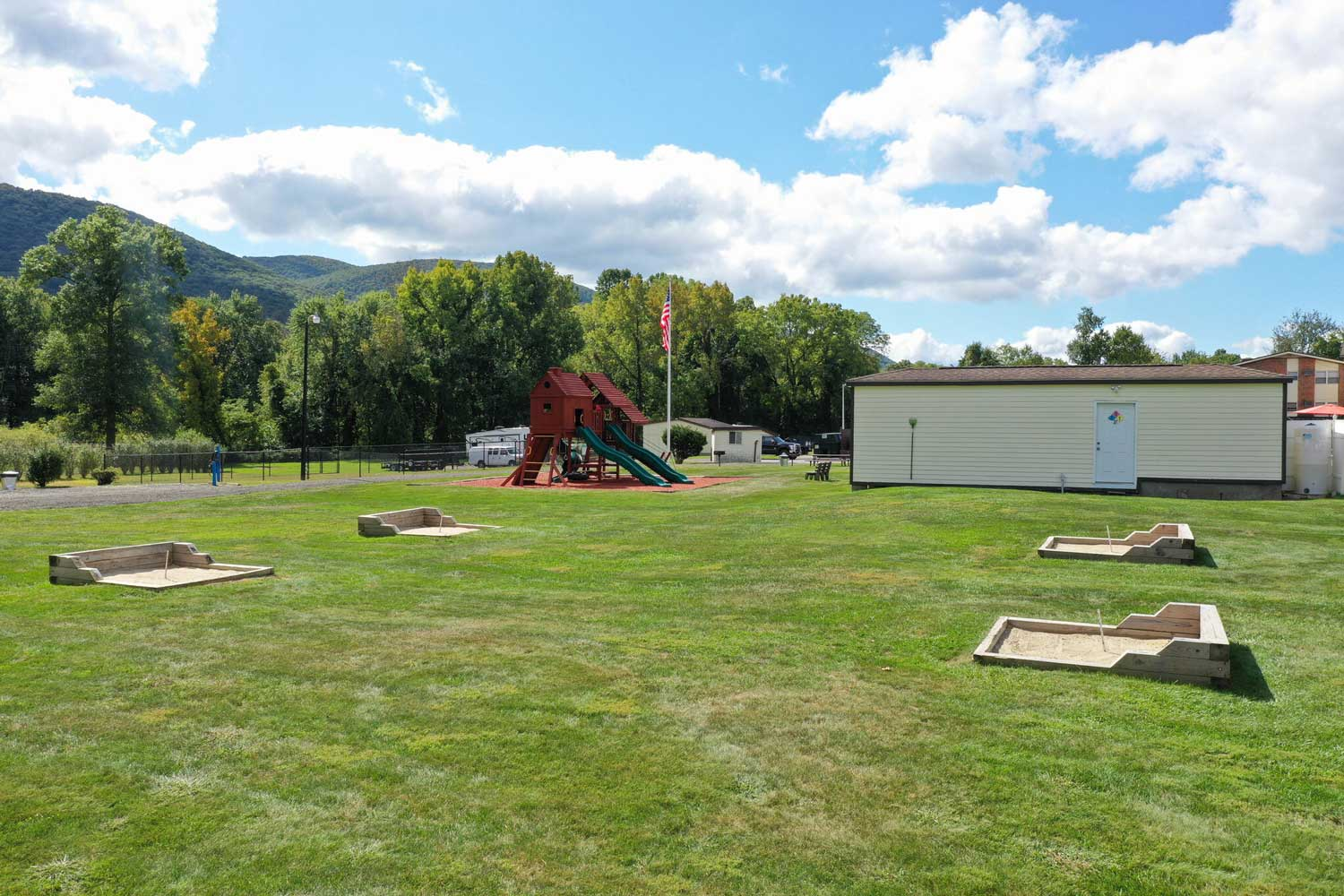 Outdoor Games at Mountainview Gardens Apartments in Fishkill, NY