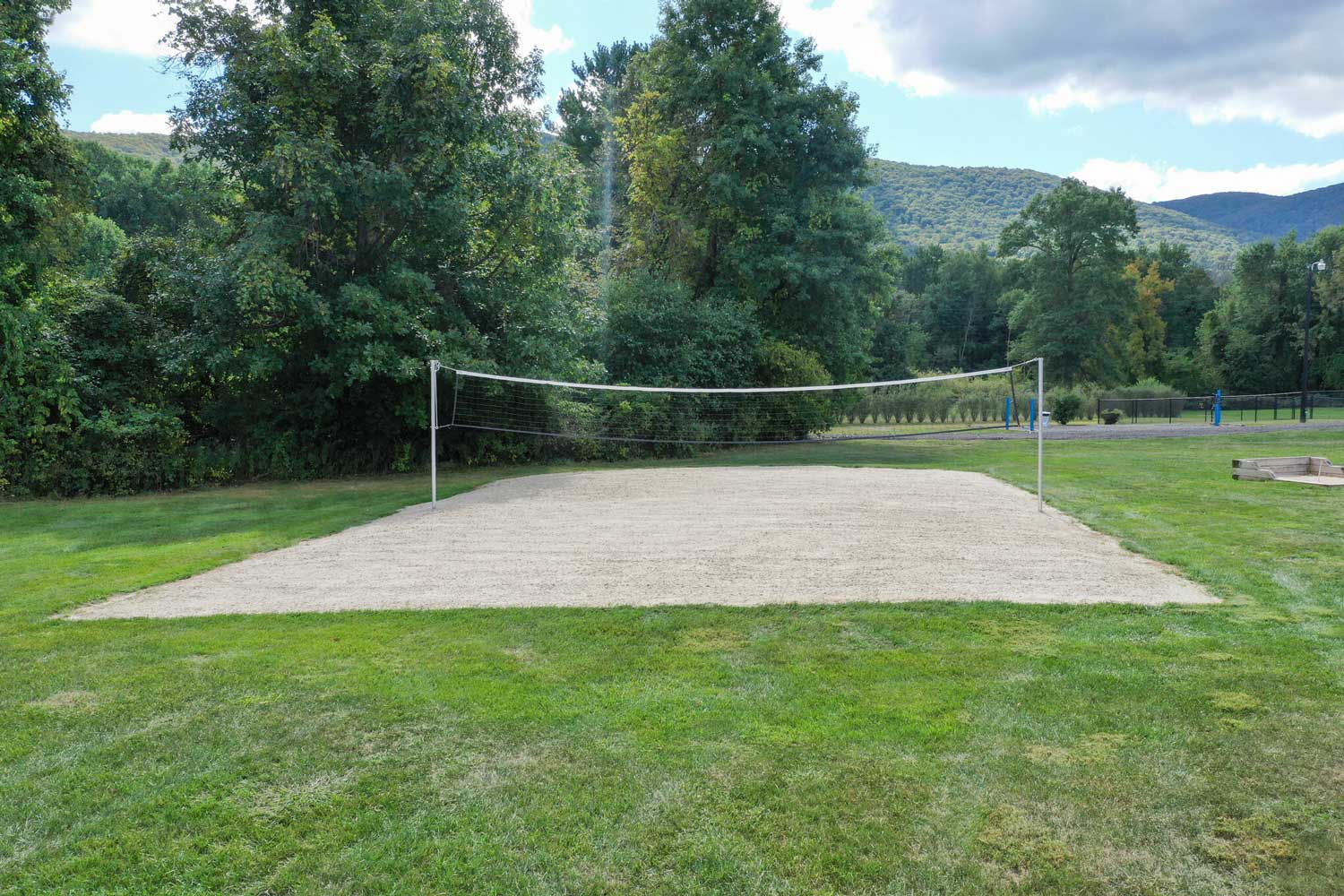 Volleyball Court at Mountainview Gardens Apartments in Fishkill, NY