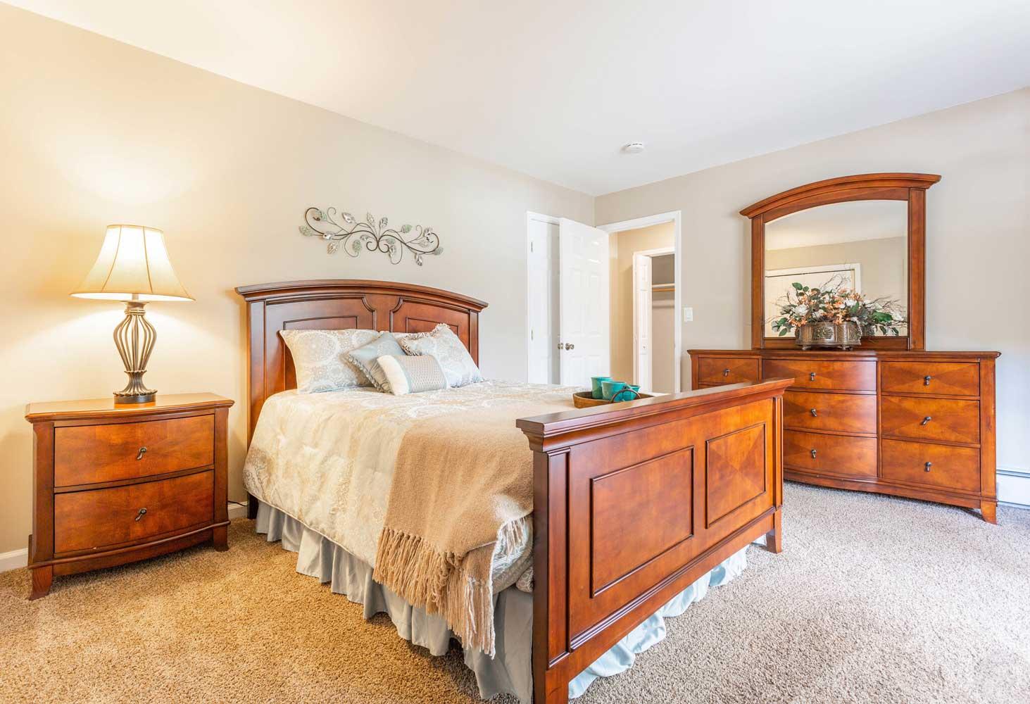 Bedroom at Mountainview Gardens Apartments in Fishkill, NY