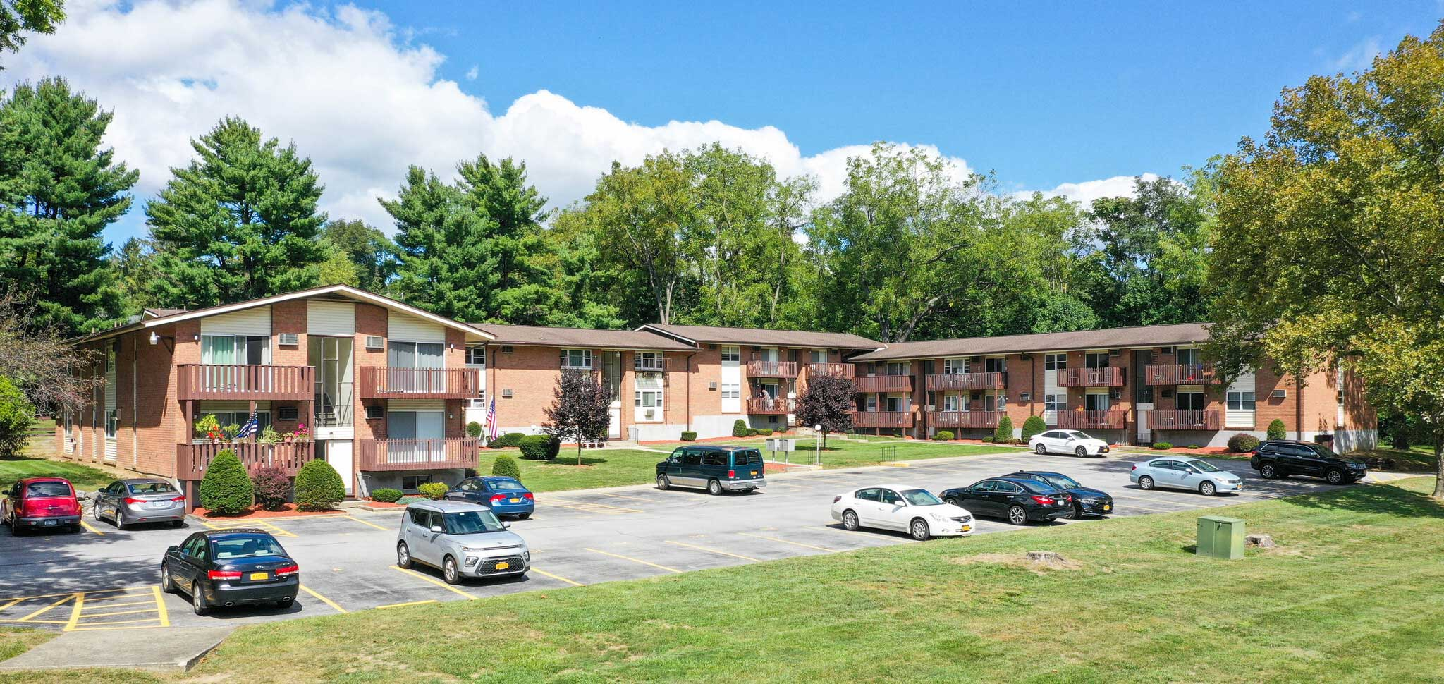 Parking at Mountainview Gardens Apartments in Fishkill, NY