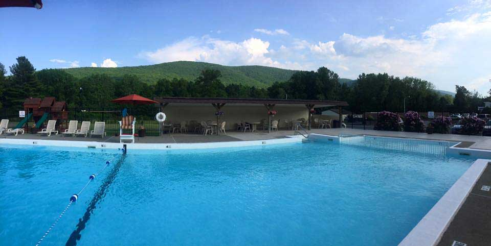 Swimming Pool at Mountainview Gardens Apartments in Fishkill, NY