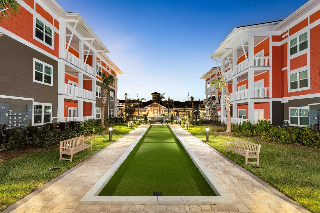Serene Community at M South Apartments in Tampa, Florida