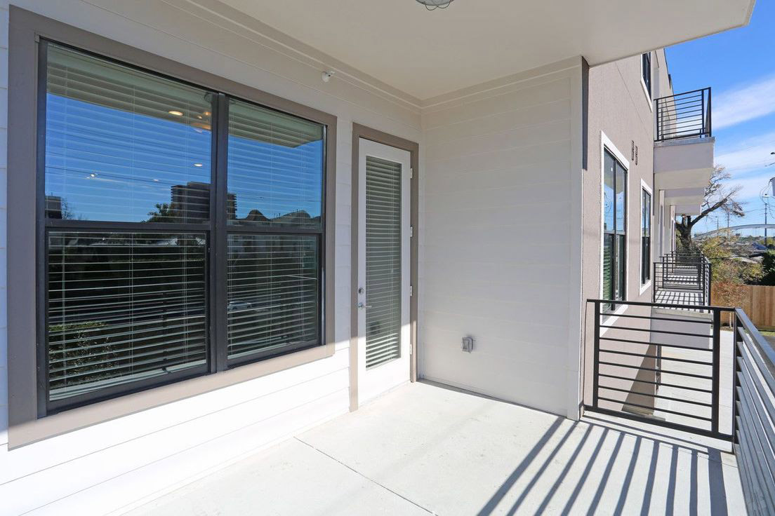 Private Patio or Balcony at Mt. Vernon Lofts Apartments in Houston, Texas