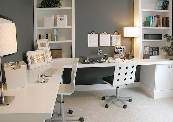 Multifamily Interior Design: Home Office Workspace