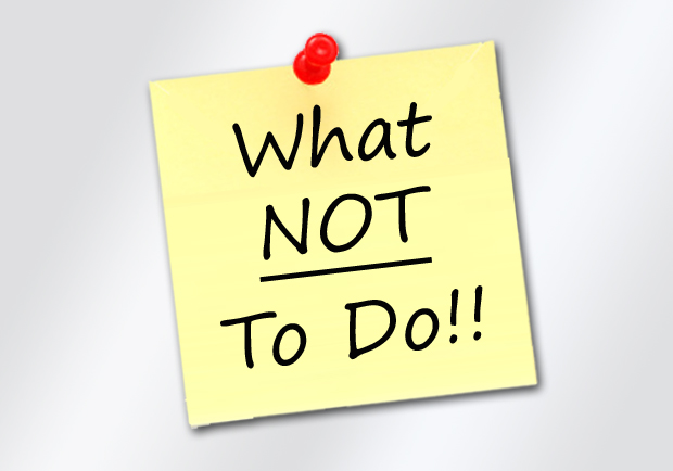 Property Management: 5 Things We Do Not Do