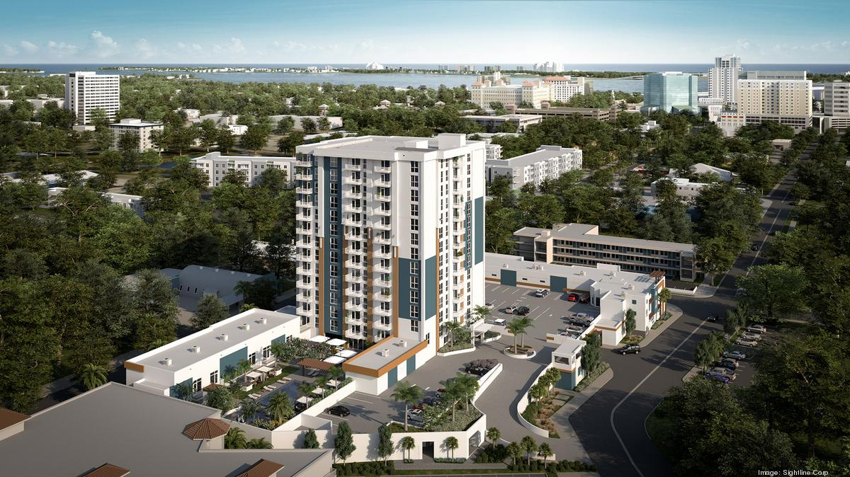 McShane Transforms Abandoned 15-Story High-Rise into 134 High-End Apartment and Townhome Units in Clearwater, Florida