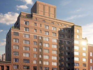 Rudin Unveils Apartments at 130 West 12th Street