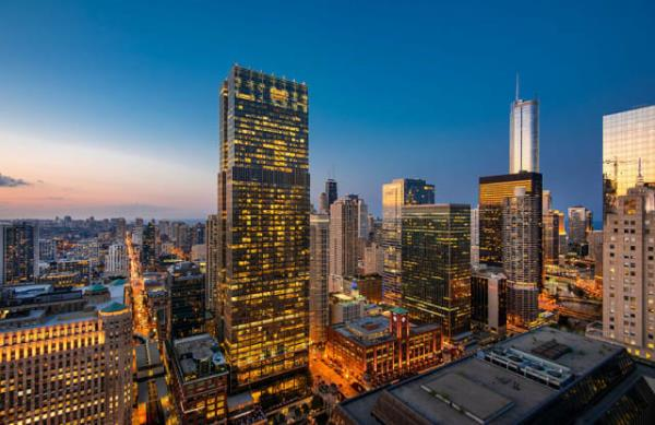 Corporate Housing High-Rise Building Converting to Luxury Apartment Community in Chicago