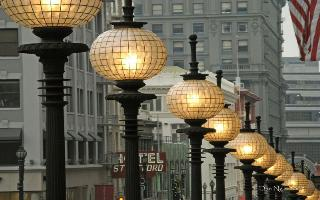 City Using Smart Streetlights