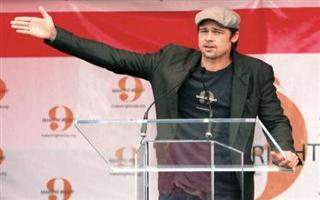Brad Pitt Gets Eco-Award