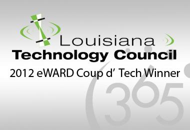 365 Connect Receives 2012 Coup D' Tech eWARD