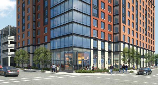 Groundbreaking of Sixteen-Story Tower Represents City's First Luxury Rental Development in 40 Years