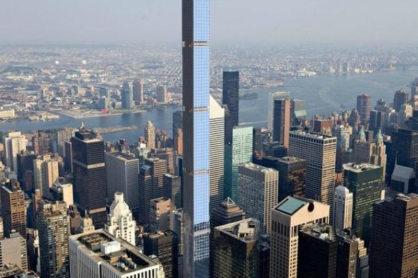 432 Park Avenue Tops Out to Become Tallest Residential Building in Western Hemisphere
