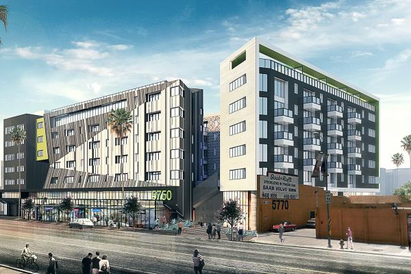 Wood Partners Announces Groundbreaking on 161-Unit Apartment Development in Iconic Hollywood