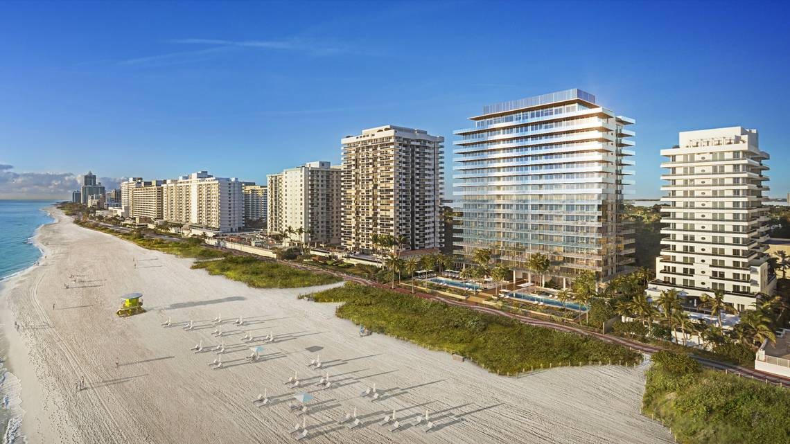 Luxury Oceanfront Condominium Development on Iconic Millionaire's Row in Miami Beach Secures $58.5 Million Construction Loan