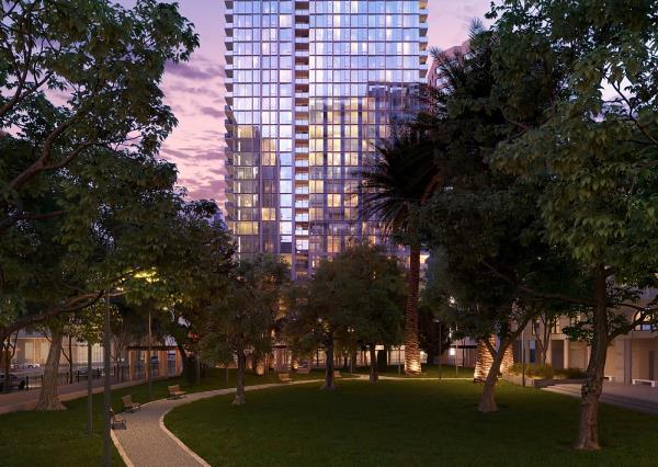 CIM Group Marks Completion of 888 at Grand Hope Park Apartment Tower in Downtown Los Angeles