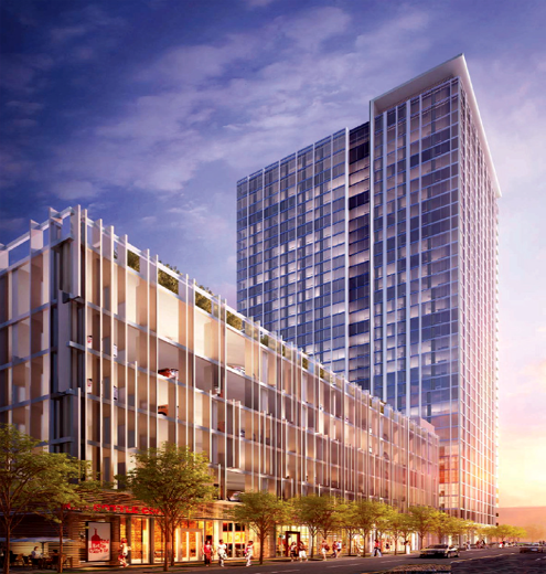CIM Group Starts Construction of Luxury Apartment Tower in Hot Downtown Los Angeles Market