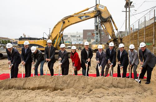Associated Estates and San Francisco Leaders Celebrate Groundbreaking of New Apartment Community