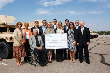Aimco Event Raises $200,000 for Military Families