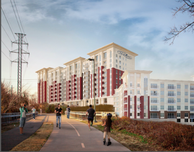 Behringer Harvard and Trammell Crow Begin Construction of Luxury Multifamily Community