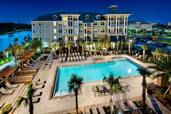 Bluerock Residential Acquires 340-Unit Alexan Henderson Beach Apartments in Destin, Florida