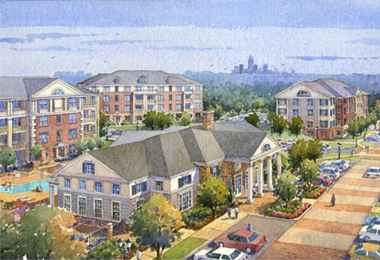 Crescent Communities Breaks Ground on First Phase of Mixed-Use Alexander Village Development