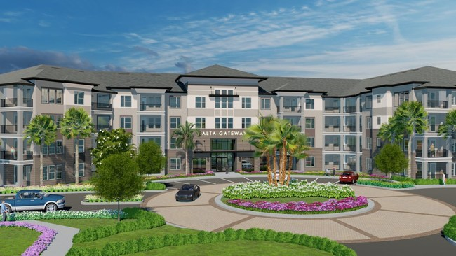 Wood Partners Announces Grand Opening of 288-Unit Alta Gateway Luxury Apartment Community in Pinellas Park, Florida