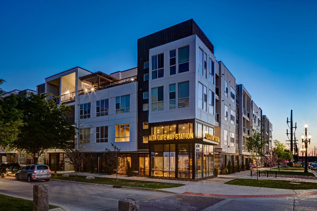 Wood Partners Kicks Off Groundbreaking of New 228-Unit Alta Gateway II Luxury Apartment Community in Salt Lake City, Utah