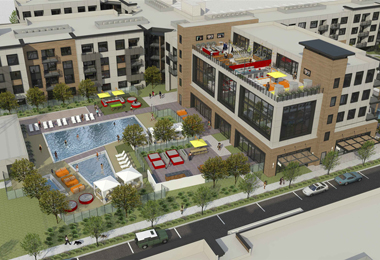 $120 Million High-Density Infill Apartment Community Moving Forward Near Facebook's Campuses