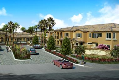 Archstone Breaks Ground on Townhome Development