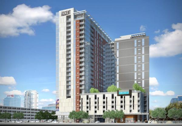 Plans Unveiled for 35-Story High-Rise Apartment Tower in Texas Medical Center District by Greystar