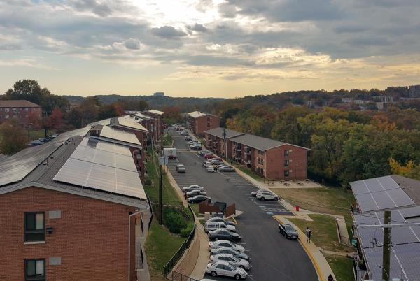 WinnCompanies Launches Largest Solar Project in D.C. for Affordable Housing Community
