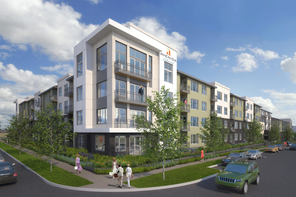 55+ Apartment Community Near Transit and Retail Commences Construction in Denver Metro Area