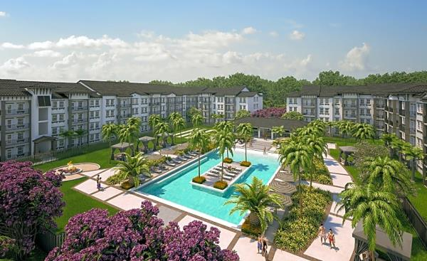 Boardwalk Properties Acquires Newly Constructed 394-Unit Apartment Community in Florida for $119 Million