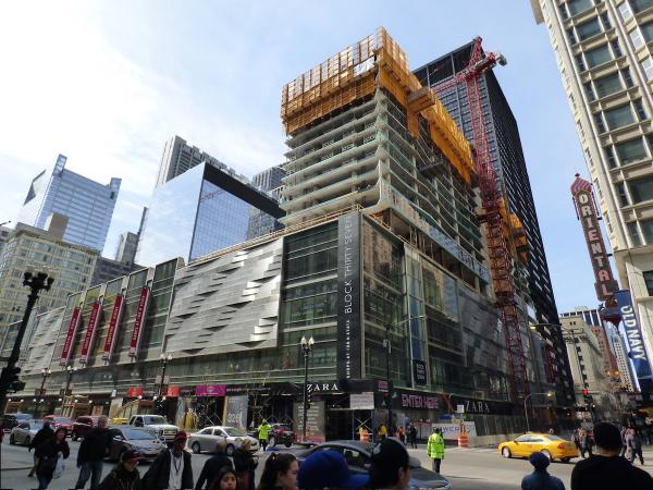 CIM Group Marks Milestone with Topping Out of 690-Unit Residential Tower in Chicago