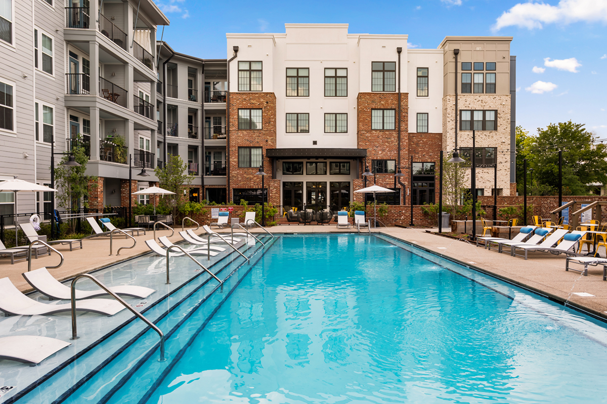 Mission Rock Residential Assumes Management of 283-Unit Bluebird Row Apartments in Chattanooga, Tennessee