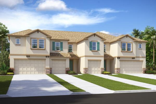 CalAtlantic Homes Unveils New Townhome Community in Popular Citrus Park Area of Tampa, Florida