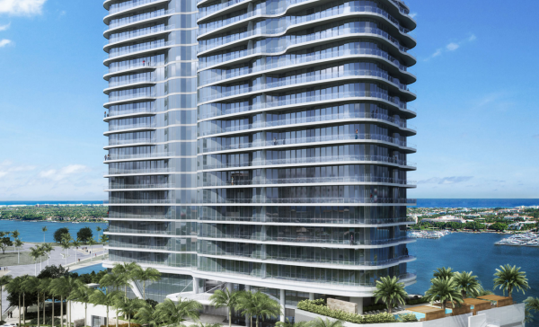 Ultra-Luxury 25-Story Palm Beach Condominium Tower Secures Construction Financing