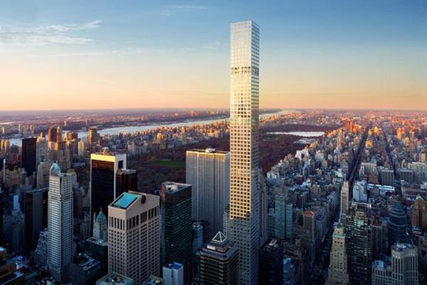 Central Park Tower in Manhattan Officially Tops Out as Tallest Residential Building in the World