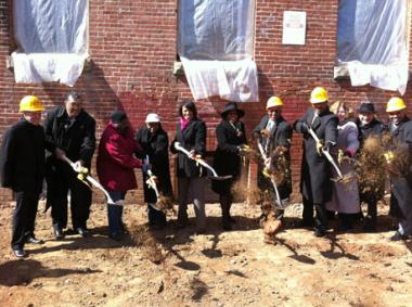 Historic Columbus School Building Undergoing Conversion to Modern Workforce Housing