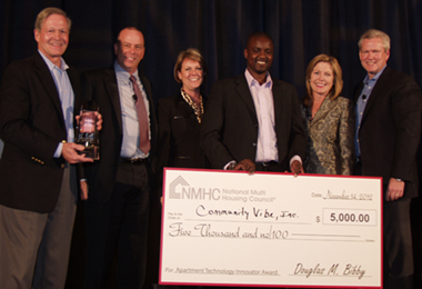 NMHC LaunchPad Award Winner CommunityVibe Delivers Focused Solutions to Multifamily Industry