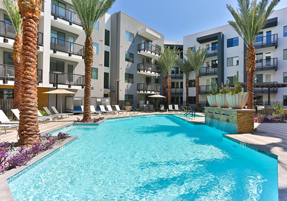 Greystar Acquires 349-Unit Crescent Highland Luxury Apartment Community in Popular Phoenix Submarket