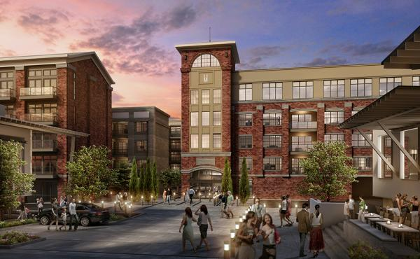 Preleasing Begins at 256-Unit Crescent Howell Mill Luxury Apartments in Hot Atlanta Market
