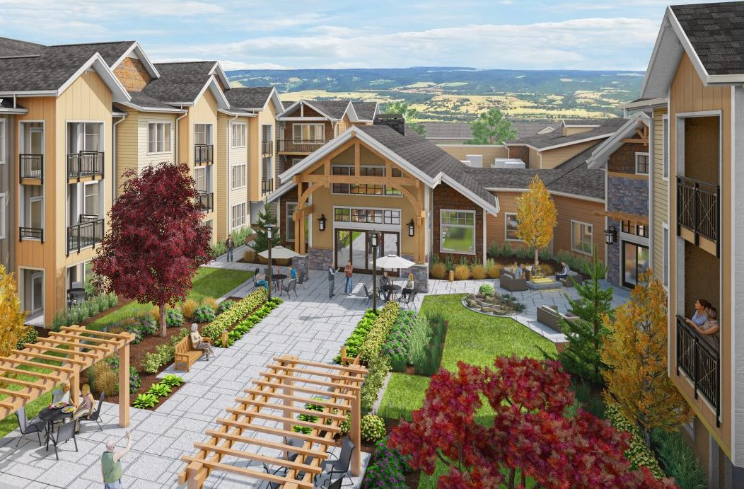Construction Underway on Phase Two Expansion at Independent Senior Living Community in Picturesque Dallas, Oregon